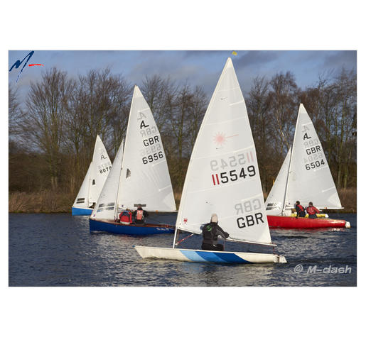 Winter racing, River Trent