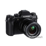 Fuji X-T1 with 18-55mm zoom lens