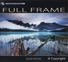 Full Frame by David Noton, Cover